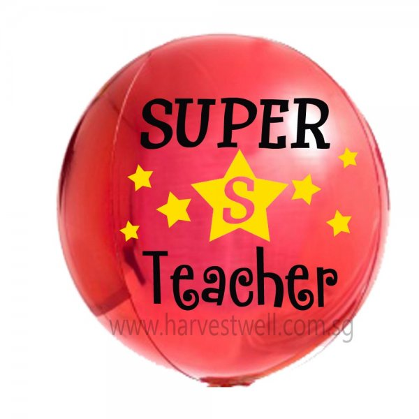 Customize Teacher's Day ORBZ Balloon